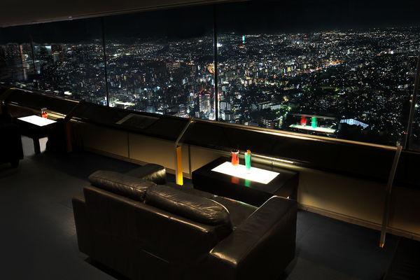 横浜ランドマークタワーのビアガーデン