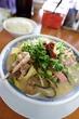 長浜ラーメン名島亭で15時から提供される「名島のちゃんぽん」