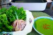 『宮川食鳥鶏卵』の特上若どりもも肉でランチ