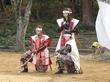 浜松徳川武将隊・浜松城公園での殺陣の演舞!!