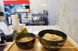 つけ麺たつ介九産大前店での2種類目は「鶏ゆずつけ麺」
