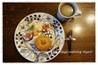 おうちモーニング その1285 ~マメヒコの黒豆円パン~