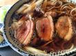 鴨そばを食べてみました~~~(*^^)v 青森県五所川原市「日本蕎麦 一茶庵」