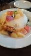 【カフェ アクイーユ ( cafe accueil)/恵比寿 】今日まで生誕祭でパンケーキがお得