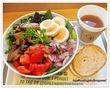 サラダ専門店グリーンブラザーズの新メニュー♪ブリの照焼きサラダ、スープサラダなど