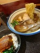 烈志笑魚油 麺香房 三く@新福島