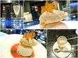 Toshi Yoroizuka@東京ミッドタウンで夏らしい桃の新作と日本酒と。
