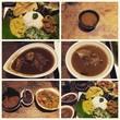 赤米とスリランカカレー♪@SRI LANKAN DINING A*MAYA 本町店