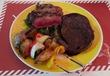 「牛グリル」と「鹿煮込み」と…メインはなんと3種類! そして、「黒キャベツのスパゲッティ」も、キタ~~ッラw  西荻窪・trattoria29