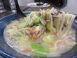 【福岡】野菜特盛チャンポンとチャーシューメン♪@天鼓 板付店