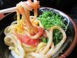【福岡】めんたま(明太子釜玉)&塩サバうどん♪@福岡麺通団