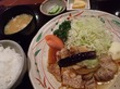 やまと『生姜焼き定食』@アルボーレ銀座