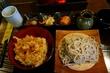 ★★★信州手打蕎麦処 くるみ庵*海鮮かき揚げ丼と蕎麦のセット*京成大久保