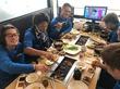 【ビケ足場のダイワ 東福岡営業所】若手ビケメン 肉食系食事会♪