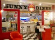 【ハンバーガー】ジューシーなパティの、ベーコンエッグチーズバーガー【SUNNY DINER:北千住】