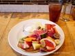 フルーツパンケーキ♡J.S. PANCAKE CAFE