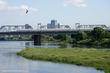 川鵜飛ぶ多摩川