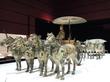 九州国立博物館 特別展 「始皇帝と大兵馬俑」 の魅力 ~皇帝のみが許された4頭立て馬車~(5)