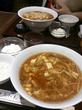 たけくまの酸辣湯麺の量が…(たけくま@赤坂)