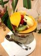 果実園リーデルでフルーツみつ豆を(新宿)