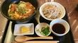 ひさびさにカツ丼 - Katsudon and Cold Soba -