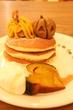 【パンケーキカフェ MOGMOG/下北沢】かぼちゃと栗とお芋のハロウィンパンケーキ♪