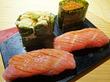 一貫からお気軽に!錦市場内の立ち食い寿司。「英」@京都河原町