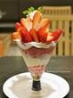 さくらももいちごときらぴ香苺のパフェ♡タカノフルーツパーラー横浜高島屋