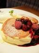 【パンケーキ】ふわとろすぎてフォークなんていらない!スプーンで食べるパンケーキ