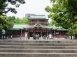富岡八幡宮の大関力士碑(深川散歩②)