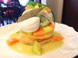 全方位美人のメロンのパンケーキ!篠崎の「Cafe Ange」で6月限定パンケーキ
