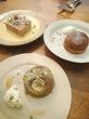 三軒茶屋♪『ニコラ』バナナとピスタチオのタルトとタルトタタンとセミフレッド~☆