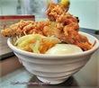 麺屋やまき名物!特製・唐辛麺(唐揚げ+辛い)で満腹♪低糖質麺もあります。