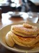定番の〜リコッタチーズパンケーキとふわふわスクランブルエッグの至福 bills@お台場