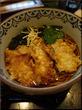 牡蠣天のサクサクっとした食感と蕎麦は最高!場外:長生庵