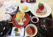 【福岡】大きな生簀を囲むカウンターで和食ランチ♪@博多料亭 稚加榮
