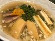 この時期にしか頂けない、大変貴重な奈良県吉野町産・花山椒を使用した、塩らぁ麺@支那そばや