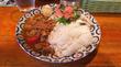 新宿三丁目「サンラサー」夏野菜たっぷりチキンカレー