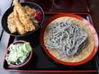 (東久留米市) - ごまそばと丼 高田屋 東久留米店 「ごまそばと海老天丼のセット ¥972(税込)」