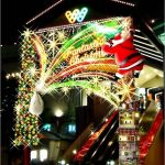 横浜ワールドポーターズ クリスマスイルミネーション2017