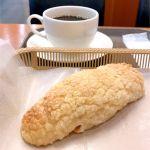 カスカード ゼスト御池店:塩バターメロンパンとコーヒー