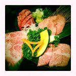 特上四種盛り@ホルモン道場 輪倶闇市 六本木店 /お店の名前は「坂の途中」に改名されてました。やっぱりいい肉は旨い!当たり前か^^;