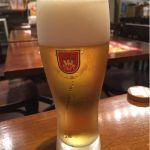 ハンバーグワークス 東京駅グランルーフフロント店 とりあえず生ビール