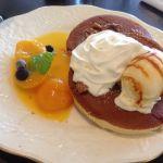 ウィーンの森 いよてつ高島屋店愛媛にあるパンケーキ屋さん🎶伊予柑が添えてあり、クリームの甘さと伊予の甘酸っぱさが良い具合にマッチングしてました( ´ ▽ ` )とても満足です♪