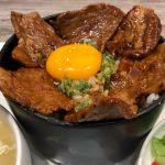 ぴょんぴょん舎オンマーキッチン 川崎店 はみだし豚丼(^。^)