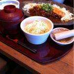 京いぶき リーフウォーク稲沢店にやって来ました。味噌ロースかつ定食 ¥1344