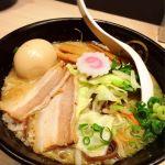 TOKYO豚骨BASE MADE by 博多一風堂 #ramen 朝から醤油豚骨ラーメン\(^o^)/やっぱりここはスープが美味しい♡タンメンなので野菜たっぷり取れました♪
