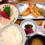 お昼の和御膳 ¥2,376 / このあとかき揚げもありました^ ^ ◇ 新宿つな八 町田店