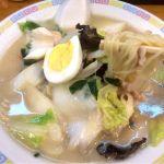 中央軒の五目汁そば✨ 長崎の味👌