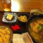 沖縄料理 ふる里パレットプラザでバスツアー終了…お腹がすいたので、ソーキそば定食♪
